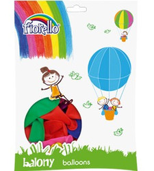 BALON MIX PASTELOWE 12'' KW 170-1681