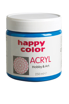 FARBY AKRYLOWE SŁOIK PET 250 ml. HAPPY COLOR HA 7370 0250-...